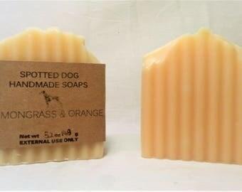 Lemongrass and Orange Essential Oil Bar Soap