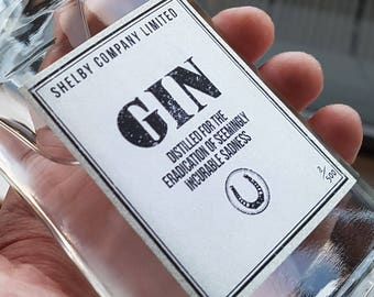 Peaky Blinders Gin bottle | Shelby Company Limited | prop replica