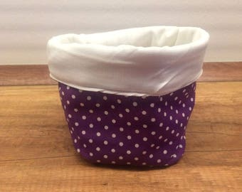 Small Utensilos/Storage baskets made of fabric