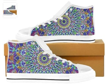 Justin Bieber Shoes - The multicolor one