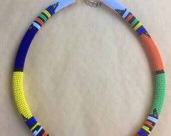 Shaka Beaded Necklace
