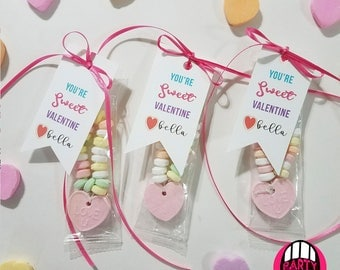 You're Sweet Valentine | Valentine Cookie Tags | Kids Valentine Cards | DIY Valentines