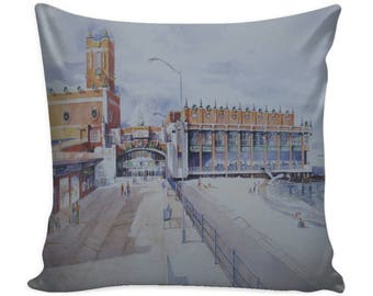 Images of Asbury Park Throw Pillows/Convention Hall Asbury Park/Stone Pony Asbury Park/Greetings From Asbury Park/Asbury Park New Jersey