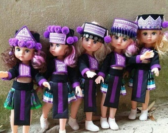 Hmong Dolls - Todlers