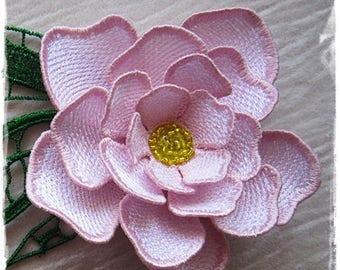 Brooch-flower FSL