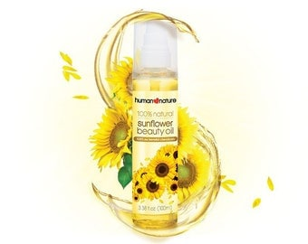 Human Nature Sunflower Beauty Oil  100% Natural and Hypoallergenic Bestseller