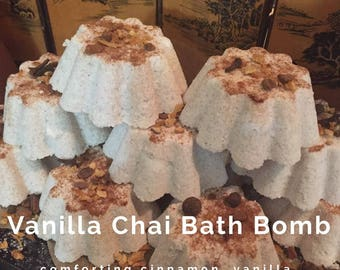 Vanilla Chai Bath Bomb