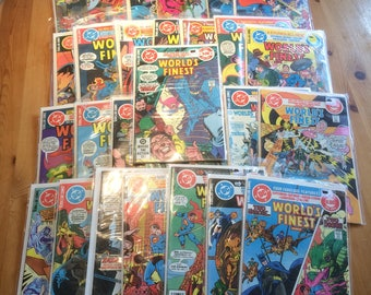29 issues of DC 'World's Finest Comics' from the 1970's