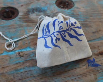 Wattle Drawstring Bag