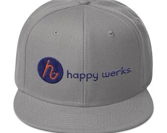 happy werks snapback