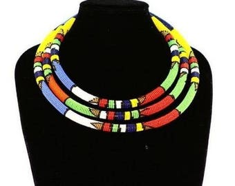 Handcrafted African Necklace