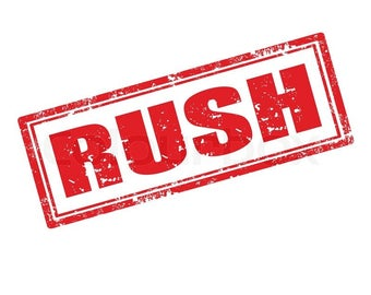 Rush Production - Jump to the Front of the Line!