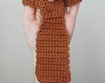 Baby crochet tie