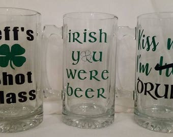 St. Patrick's Day Beermugs