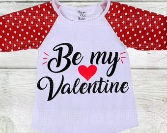 Be my Valentine SVG Valentine's day svg kids valentine svg dxf eps png svg glitter png kids valentines cut file heart svg