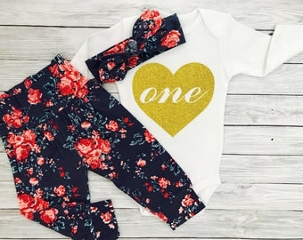 First Birthday Outfit Girl, 1st Birthday Girl Outfit, 1st Birthday Outfit, Baby Girl 1st Birthday Outfit, First Birthday Outfit Girl