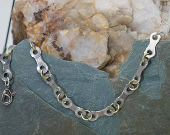 Bicycle Chain Single Link Braclet