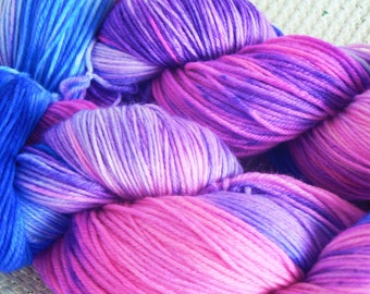 A Whole New World - Luxury Hand Dyed Sock Yarn - Merino Cashmere Nylon