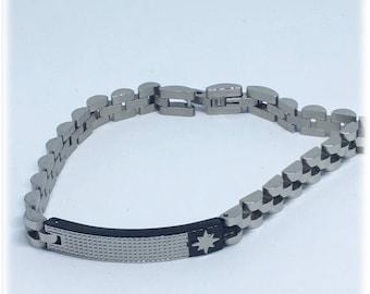 Analergico Steel Bracelet