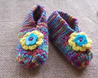 Girls Woolen Slippers