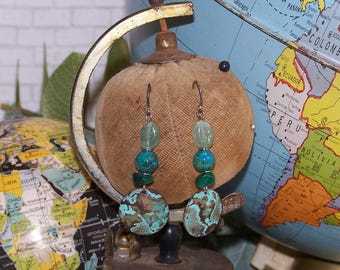 Alignment Gemstone Earrings