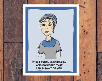 Jane Austen Valentine