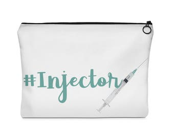 Beauty Injector  Carry All Pouch Flat (two sizes)