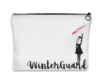 Winterguard (Rifle) Carry All Pouch - Flat (Two Sizes) Winter Guard / ColorGuard