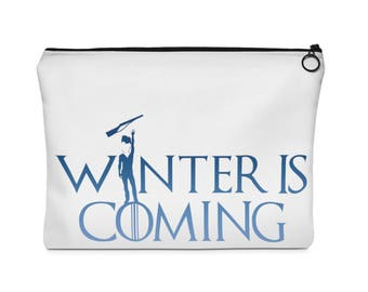 Winter Guard Is Coming (Boy Rifle)  Carry All Pouch - Flat - (Two Sizes) WGi / WinterGuard