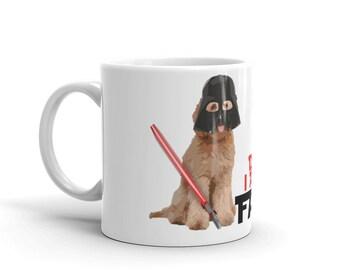 Doodle Father - Star Wars Themed Mug - Golden Doodle, LabraDoodle, Bernedoodle, GoldenDoodle