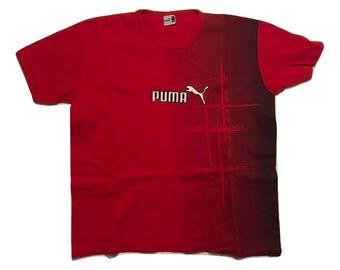 Puma T shirt 80s Vintage - Sz M