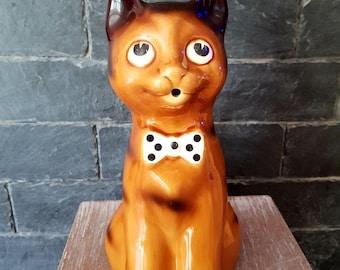 Vintage cat decanter pitcher