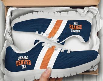 Denver Broncos Football Custom Shoes Sneakers Women/Men