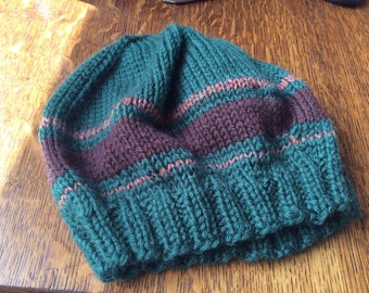 Small child's knit hat