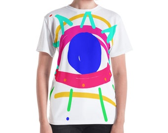 Mystic Eye and Third Eye All Over Print Women's T-shirt