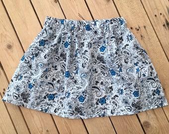 Girls elasticated waist skirt
