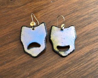 melancholy earrings