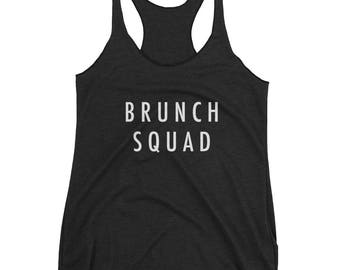 Brunch Squad Women's Racerback Tank