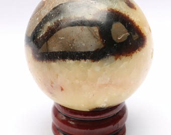 Natural Septarian Dragon Stone Crystal Sphere Madagascar (price for one)