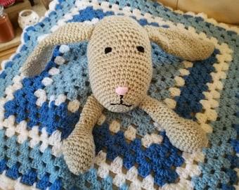 Baby/ Child hand crocheted comforter blanket