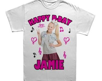Jojo Siwa Custom Birthday T-shirt-2