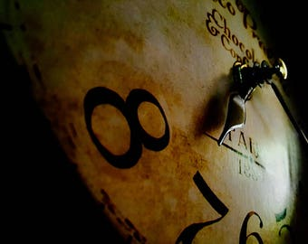 Clock Closeup Photo Print