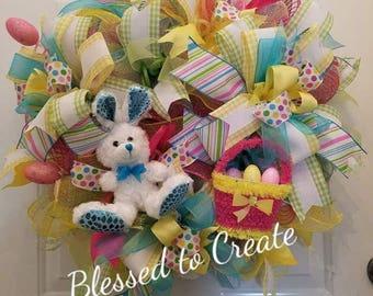 Adorable Fun Easter Wreath