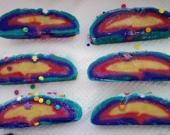Unicorn cake Bubble Bar, Bubble bars, Kids party, Kids bath, kids