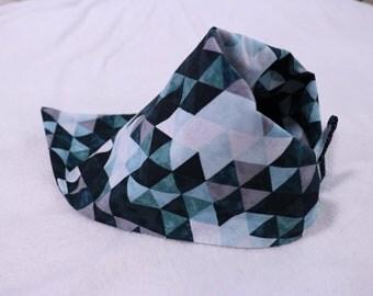 Day dreaming reversible dog bandana
