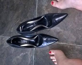 Well worn pointed toe stiletto work heels uk 5