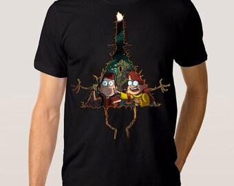 Gravity Falls Bill Cipher Art T-shirt, Men's Women's All Sizes