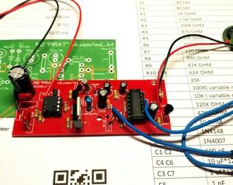 DIY Board metal detector Pirate on K157UD2