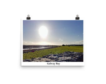 To Watch the Sun go Down on Galway Bay