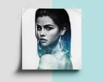 Selena Gomez - Digital Painting